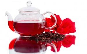 دمنوش گیاه چای ترش لاغری شکم