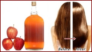خواص سرکه سیب در درخشندگی مو