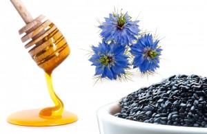 معجون سیاه دانه و عسل