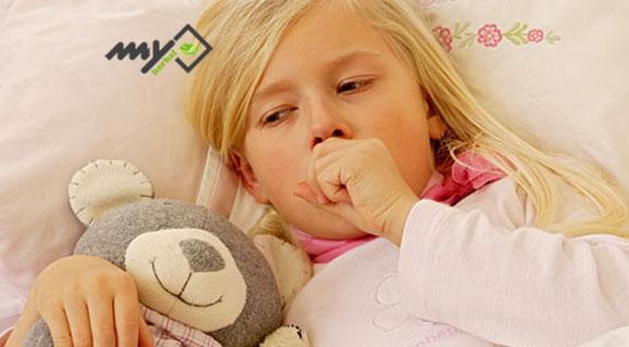 درمان سرفه کودکان با عسل
