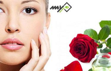 ماسک برای سفت شدن پوست - ماسک گلاب
