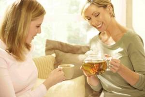 درمان سرفه با دمنوش ها