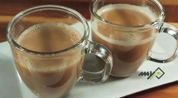 چای نارگیل کرمدار