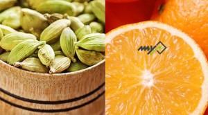 نوشیدنی هل و پرتقال هضم کننده غذا