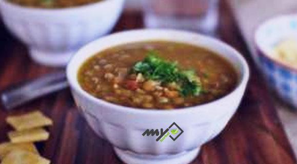 سوپ رژیمی عدس و سیر برای افراد دیابتی نوع 2